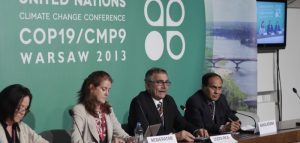 Launch of CVF Action Plan 2013-15 at COP19 in Warsaw. Source: CVF License: CC